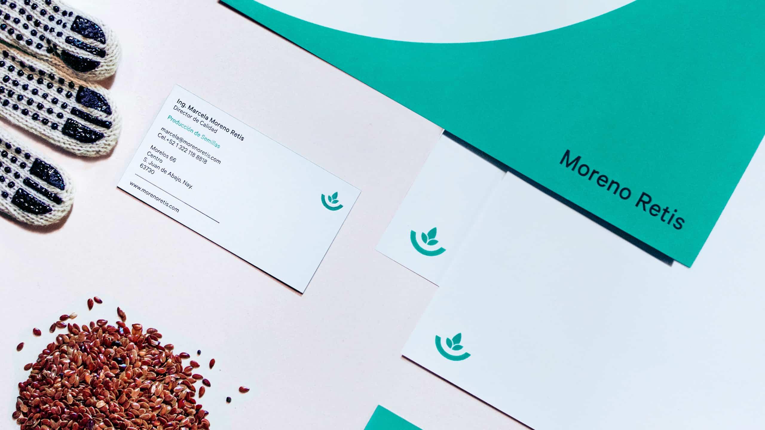 Corporate Branding for Moreno Retis